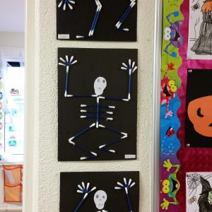 Spooky Art in Ms. Keogh's room